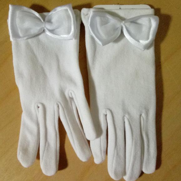 Nolan Girls White Formal Dress Gloves Ages 24 Poshmark